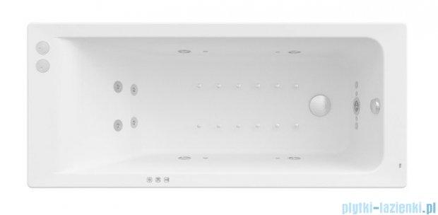 Roca Easy wanna 160x70cm z hydromasażem Smart WaterAir Plus A24T318000