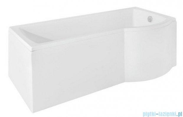 Besco Inspiro 150x70cm Wanna asymetryczna z parawanem prawa #WAI-150-PPR