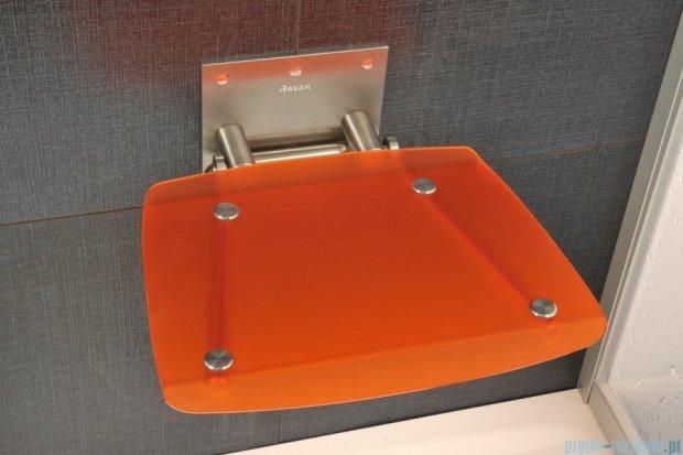 Ravak Siedzisko Ovo B Orange do kabin prysznicowych B8F0000017