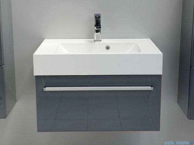 Antado Variete szafka z umywalką, wisząca 70x50x33 szary połysk FM-442/7GT-K917 + UNA-700