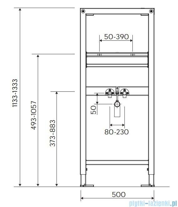 Koło Technic GT stelaż do umywalki 99402