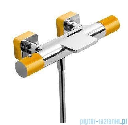 Tres Loft Colors Bateria termostatyczna wannowa kolor żółty 200.174.09.AM