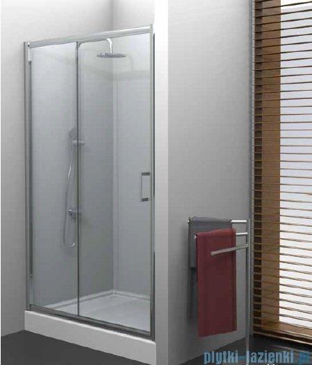 New Trendy Varia drzwi przesuwne 100x190 cm szkło grafit D-0055A