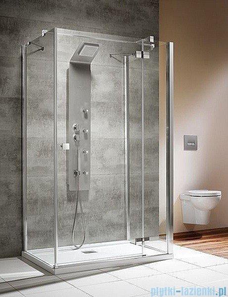 Radaway Kabina prysznicowa Almatea KDJ+S 90x100x90 prawa szkło przejrzyste 31554-01-01R