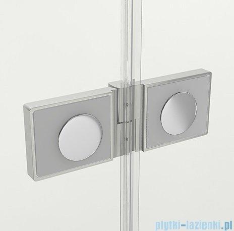 New Trendy Reflexa 80x200 cm drzwi wnękowe lewa przejrzyste EXK-1204