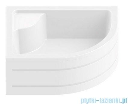 New Trendy Maxima brodzik asymetryczny z siedziskiem lewy 100x80 B-0048/L