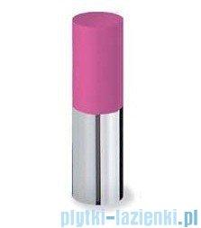 Tres Loft Colors Bateria umywalkowa z korkiem automatycznym wylewka kaskada otwarta kolor różowy 200.110.01.FU.D