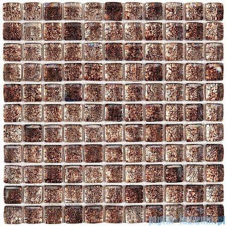 Dunin Fat Cube mozaika szklana 30x30 model almond mix 25