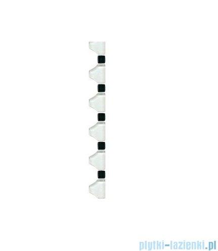 Paradyż Secret bianco B listwa wykończeniowa mozaiki 3,3x31,4