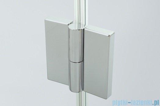 Sanplast kabina narożna kwadratowa prawa przejrzysta KNDJ2P/AVIV-90 90x90x203 cm 600-084-0050-42-401