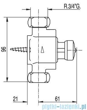Tres Tempotres Bateria natryskowa mieszająca 1.12.162