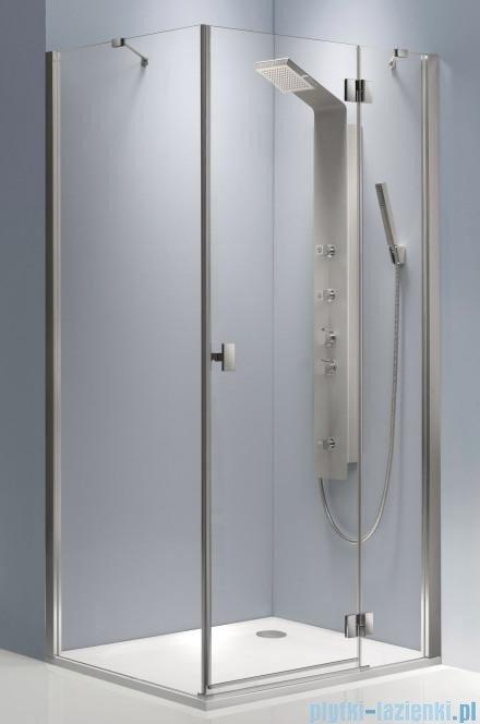 Radaway Essenza KDJ kabina 100x80 prawa szkło brązowe + brodzik Doros D + syfon 32842-01-08NR