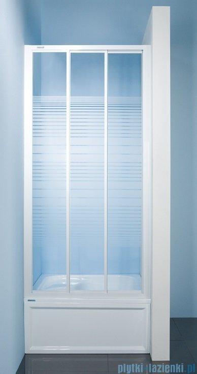 Sanplast drzwi przesuwne  DTr-c-90 szkło Sitodruk W4 600-013-1631-01-410