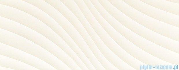 Tubądzin Elementary white wave STR płytka ścienna 29,8x74,8
