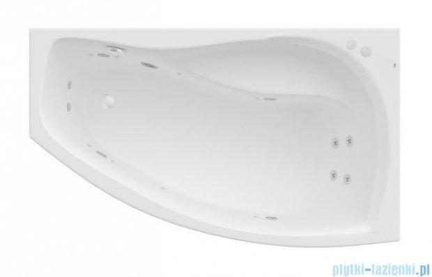 Roca Nicole wanna 160x95cm prawa z hydromasażem Smart Water Plus A24T180000