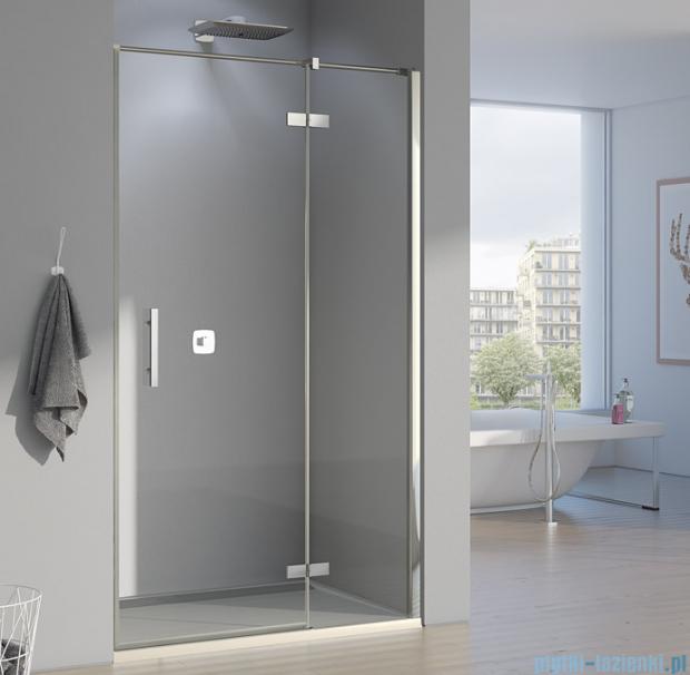 SanSwiss Pur PU13P Drzwi 1-częściowe 120cm profil chrom szkło przejrzyste Prawe PU13PD1201007