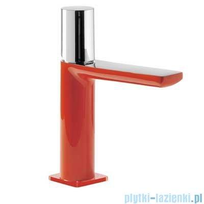 Tres Loft Colors Bateria umywalkowa z korkiem automatycznym kolor czerwony 200.103.02.RO.D