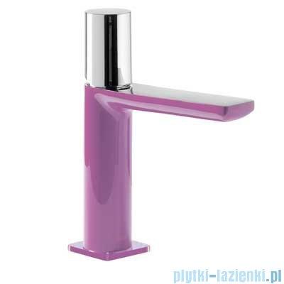 Tres Loft Colors Bateria umywalkowa z korkiem automatycznym kolor fioletowy 200.103.02.VI.D