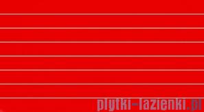 Dekor ścienny Tubądzin Colour Red 32,7x59,3