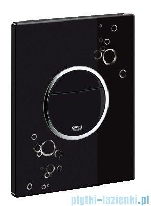Grohe Nova Cosmopolitan przycisk uruchamiający z grafiką kolor: czarny/chrom   38847KI0