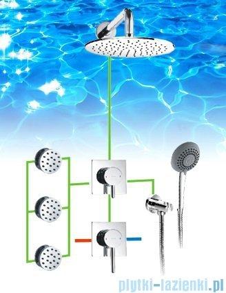 Omnires Y zestaw podtynkowy prysznicowy chrom SYSY30