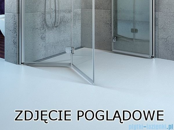 Radaway Fuenta New Kdj kabina 100x75cm prawa szkło przejrzyste 384040-01-01R/384049-01-01