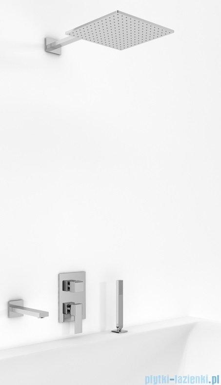 Kohlman Excelent zestaw wannowo-prysznicowy chrom QW211HQ20-007