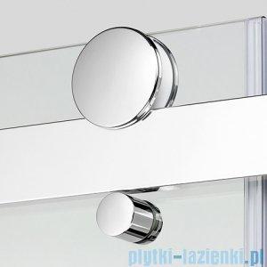 New Trendy Ultima kabina prysznicowa 90x90cm półokrągła przejrzysta EXK-1024