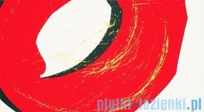 Dekor ścienny Tubądzin Colour Pop Red 32,7x59,3