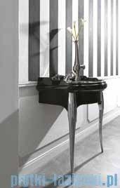 Kerasan Retro Stolik czarny pod umywalkę nogi chromowane 7362K2