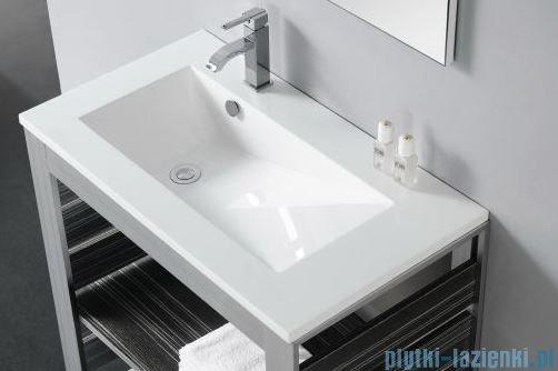 Bathco Tecno umywalka 80x45cm wpuszczana 0566