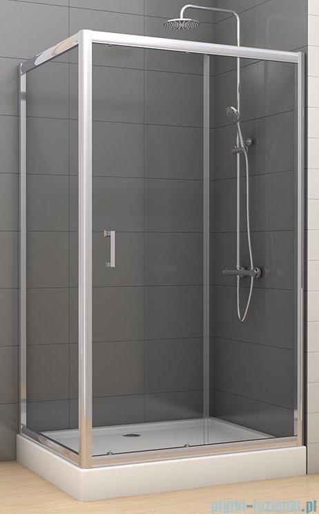 New Trendy Varia kabina prysznicowa 120x90x190 cm szkło grafitowe D-0059A/D-0048B