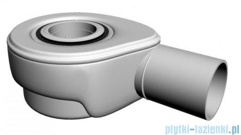 Polimat Comfort syfon brodzikowy + pokrywa Tees ze stali nierdzewnej 09 01 008