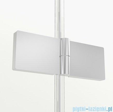 New Trendy New Soleo parawan nawannowy 3-skrzydłowy 100x70x140 cm lewa przejrzyste P-0028/P-0024
