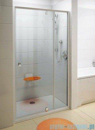 Ravak Drzwi prysznicowe obrotowe Pivot PDOP2-110 białe/białe transparent 03GD0101Z1