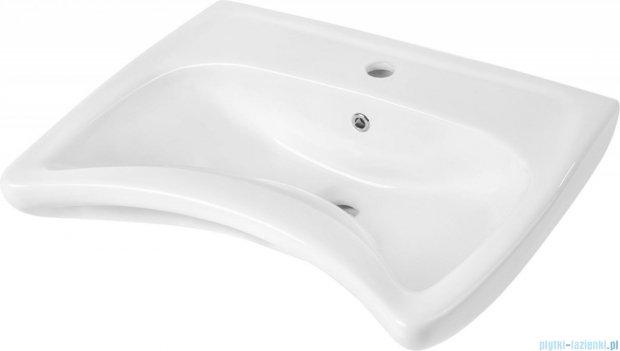 Deante Vital umywalka wisząca dla osób niepełnosprawnych biała CDV 6U6W