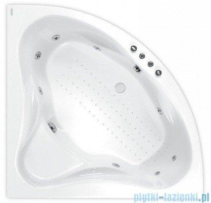 Poolspa Wanna symetryczna FRANCJA 120x120 + hydromasaż Smart 1 PHS3010ST1C0000