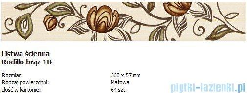Domino L-Rodillo brąz 1B 5,7x36