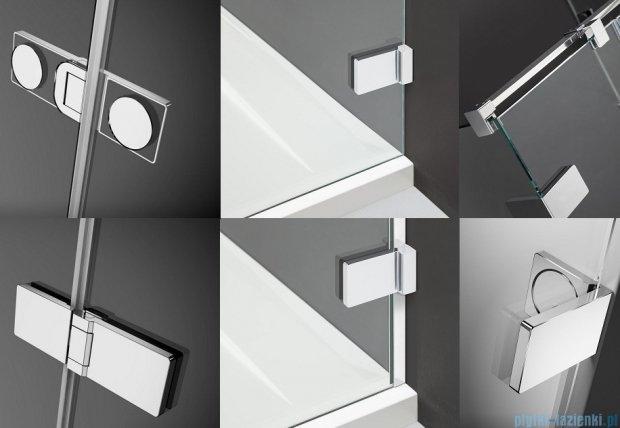 Radaway Arta Dwj II drzwi wnękowe 100cm prawe szkło przejrzyste 386441-03-01R/386012-03-01R