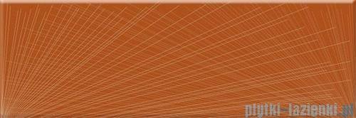 Paradyż Yoshioka arancione inserto szklane 20x60