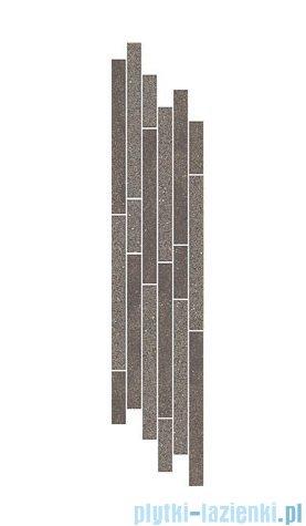 Paradyż Duroteq brown mix paski listwa 14,8x71