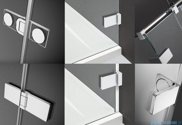 Radaway Arta Dwj II drzwi wnękowe 100cm lewe szkło przejrzyste 386441-03-01L/386012-03-01L