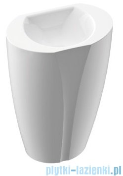 Marmorin Selia umywalka stojąca 55x34 biała 719055020010