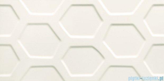 Tubądzin All in white 1 struktura płytka ścienna 29,8x59,8