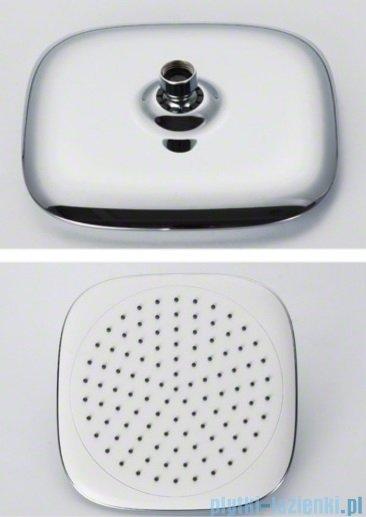 Rea zestaw natryskowyz termostatem biały Zen White Termostat