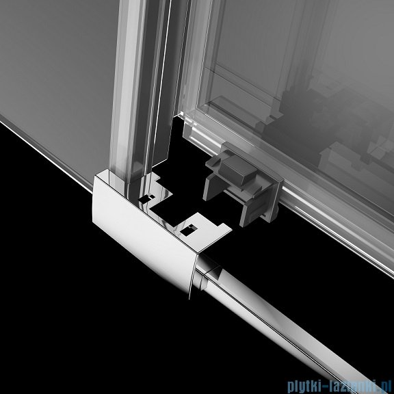 Radaway Idea Kdj kabina 100x110cm lewa szkło przejrzyste 387040-01-01L/387053-01-01R