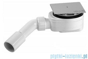 Radaway Euphoria KDJ Kabina prysznicowa 90x80 lewa szkło przejrzyste + brodzik Argos D + syfon 383044-01L/383051-01/4AD89-01