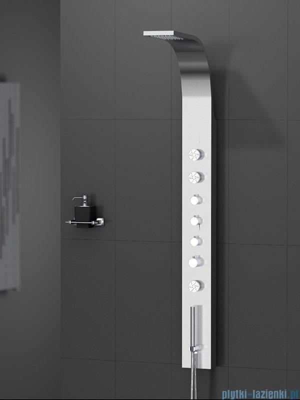 New Trendy Aquos panel prysznicowy zintegrowany z deszczownicą 165 cm EXP-0003