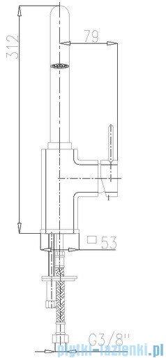 KFA Brylant bateria umywalkowa, kolor chrom 4303-715-00