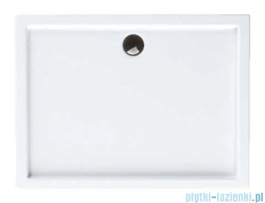 Schedpol Competia brodzik akrylowy z nośnikiem 140x80x14cm 3.0184